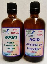 Water Purification System (MMS1) with 50% Activator &/or WPS1/DMSO Spray