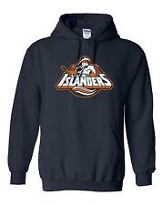 New York Islanders Logo Hooded Sweatshirt (Sizes Youth S - Adult  5XL)