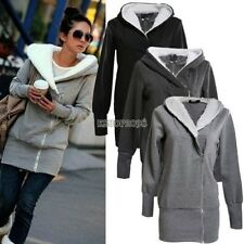 Lady Women Thicken Warm Winter Coat Hood Parka Overcoat Long Jacket Outwear