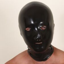 Soft and smooth powder-free chlorinated natural latex rubber hood masks