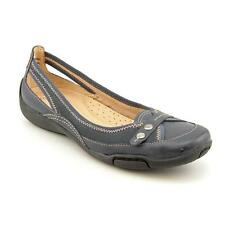 Auditions Wellstone Womens X Wide Leather Flats Shoes Used