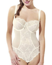 Panache Confetti Thong Body 4075 in Ivory Color