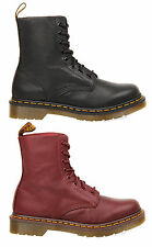 WOMENS LADIES DR MARTENS PASCAL 8 EYE LACE UP LEATHER ANKLE WINTER BOOTS SIZE