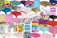 Disney/Plain Children's Birthday Party Rectangle Tablecover Table Covers Cloth