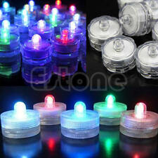 1/5/10Pcs Led Submersible Waterproof Wedding Decoration Party Tea Light