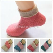 5Pair Thermal Socks Multicolor Winter Warm Knit Wool Woman Man Thick Socks Hot