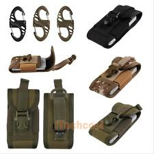 Universal Army Camo Bag for Mobile Phone Belt Loop Hook Cover Holster Pouch #T1K