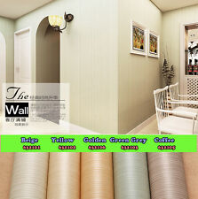Beige/Grey/Coffee/Golden Simple Style Lines Strips Background Wallpaper Roll