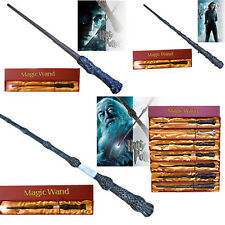 Harry Potter Led Light Up LED Hermione Ron Magic Wand Box Magical Cosplay Wizard