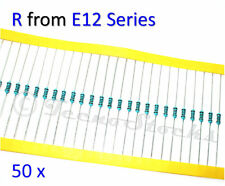 50x Resistenze 1/4W, 1% ENTRA E SCEGLI - Resistors Resistance CHOOSE VALUE 1-68K
