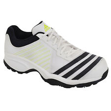 adidas Mens Performance Howzat Full Spike Cricket Shoes - White