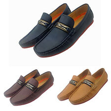 Mens Italian Loafers Casual Party Driving Slip On Shoes In UK Size 6 7 8 9 10 11