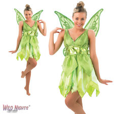 FANCY DRESS COSTUME ~ LADIES DISNEY FAIRIES TINKERBELL FAIRY SIZE 8-18