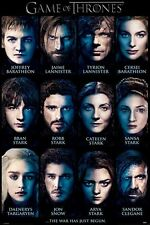 New Game of Thrones Character Portraits GoT Poster
