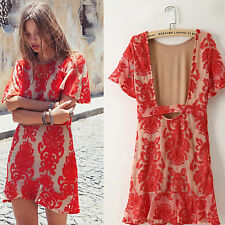 Womens Lace Summer Dress Straight Party Minidress Casual Hollow out