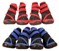 Dog Shoes Blue / Red Waterproof XXS XS S M L XL XXL Boots Booties Paws Injury