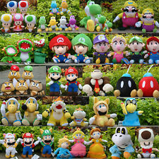 Super Mario Bros Plush Toy Game Lot Characters Stuffed Animal Doll