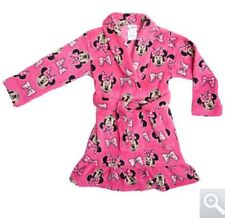 HELLO KITTY or Disney MINNIE MOUSE Fleece Bath Robe Pajama Girls PICK STYLE & SZ