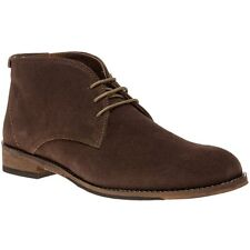 New Mens Lotus Brown Abington Suede Boots Chukka Lace Up