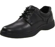 Hush Puppies Men's Thomas Black Leather Shoes Multiple Sizes Available (166)