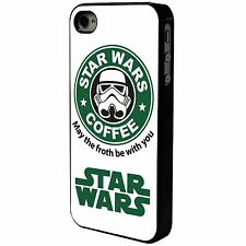 Star Wars Coffee Phone Case/Cover UK STOCK. iPhone 4 4s 5 5s 5c 6 S5