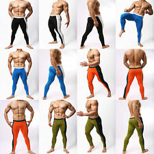 New Mens Compression Tight Running Pants Leggings Training Base Layers Skin GYM
