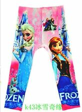New Cute Disney princess frozen Girls Clothing Kids Pants  K43