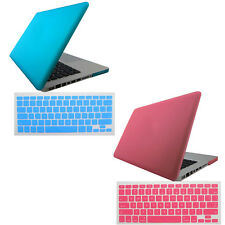 Rubberized Hard Case Shell +Keyboard Cover for Macbook Pro Air 15 inch Hot Sale