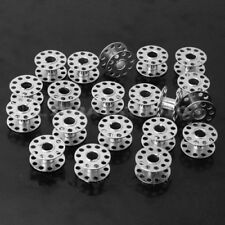20pcs Metal Stainless Sewing Machine Bobbins For BROTHER TOYOTA JANOME SINGER UK
