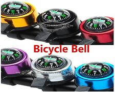 Bike Bicycle Mountain Sport Cycling Ring Compass Bell Handlebar Metal Sound Horn