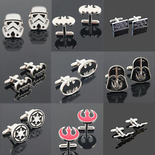 Star Wars Galactic Empire Logo Stormtrooper Rebel Alliance Batman Cufflinks