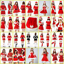 Wholesale Women Santa Claus Christmas Costume Party Girls Outfit A Suit Of Dress