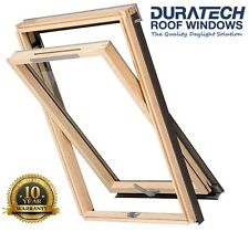 Velux/Duratech Centre Pivot Ventilated Roof Window 1140 x 1180mm with Flashing