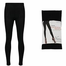 Valentina Legwear Ladies Thick Winter Warm Thermal Fleece Lined Footless Tights
