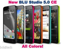 BLU Studio 5.0 C E - 3.2MP 4GB DUAL SIM Android KitKat K Unlocked GSM D536 *NEW*