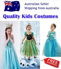 Disney Frozen Costume Elsa Anna Queen Princess Girl Birthday Party Tutu Dress