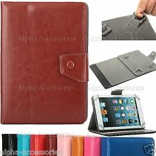 """Universal PU Leather Flip Stand Case Cover For 10.1"""" 9.7 Inch Tab Android Tablet"""