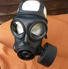 BRITISH ARMY S10 GAS MASK S10 RESPIRATOR WITH SEALED, UNOPENED S10 FILTER. ALL S