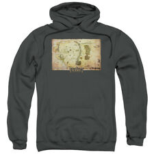 The Hobbit Movie Middle Earth Map Licensed Adult Pullover Hoodie S-3XL