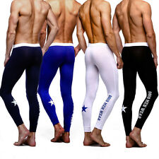 New Sexy Mens Long Johns thermal Underwears Pants 4 Colors Size M L XL # WT03
