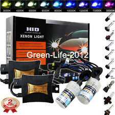 55W HID Conversion Kit H4 H7 H11 H1 9003 9005 9006 6K 5K  Hi-Lo Bi-Xenon Light