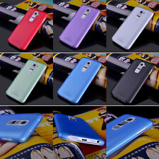 HOT Ultra Thin Soft Pc Phone Protector Black Case Cover Skin for LG G2 D802 NEW