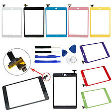LCD Front Touch Glass Digitizer Panel Cracked Screen Replacement for iPad Mini