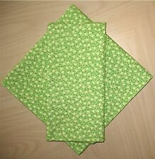 Standard, Queen, King Size Green HANDMADE PILLOWCASE Fabric by Holly Holderman