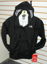 THE NORTH FACE GIRLS RESOLVE WATERPROOF JACKET-A1VC- BLACK -S, M, L, XL-NEW