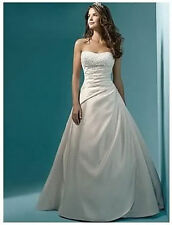 New Stock White/Ivory Wedding Dress Bridal Gown Size 6/8/10/12/14/16
