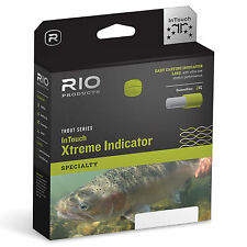 RIO InTouch Xtreme Indicator Nymphing Short Head Floating 3-Color Fly Lines