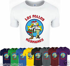 LOS POLLOS HERMANOS Walter White Heisenberg Breaking Bad T-Shirt Tee Top T Shirt