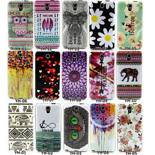 TPU Silicone Print Phone Back Case Cover For Samsung Galaxy Note 3 Neo N7505 New
