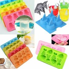 DIY  Ice Cube Tray Mould Chocolate Jelly Mold Random Color Multi-style